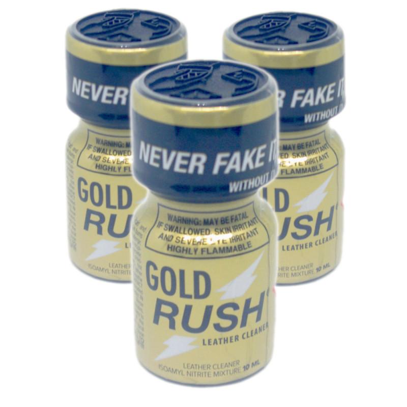 3x Gold Rush (10ml) Pack