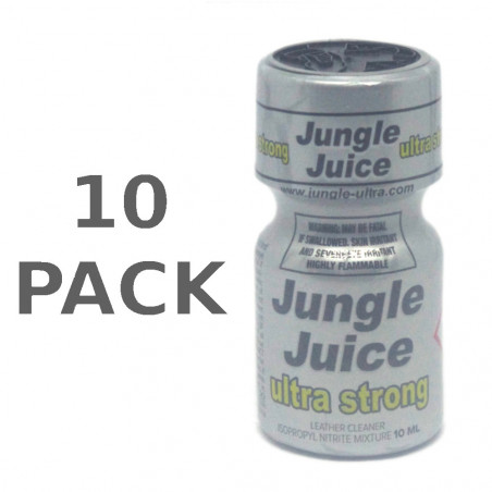 10x Jungle Juice Ultra Strong (10ml) Pack